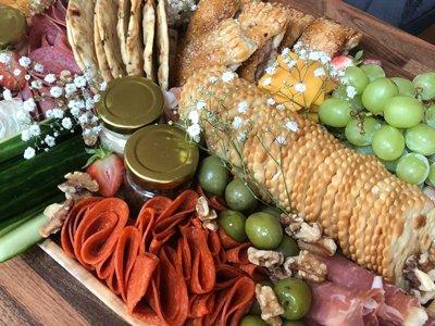 Crackers and Meat Platters